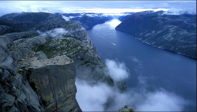 Rock Preikestolen Norway-2