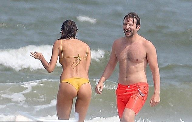 Irina Shayks Teeny Bikini Goes Missing, Bradley Cooper ... Bradley Cooper S Baby