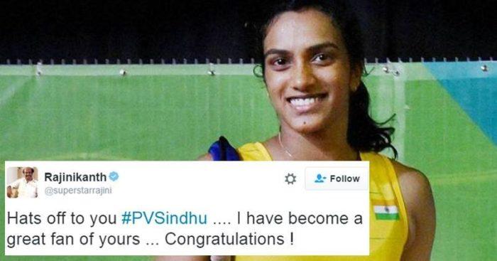 Sindhu silver medalist in rio