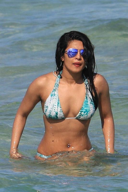 priyanka chopra beach pics viral