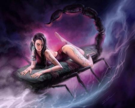 Эротический гороскоп женщины скорпио