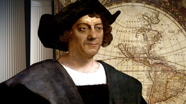Christopher Columbus men who changed the world
