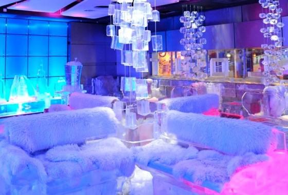 ice lounge in delhi
