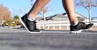 Average person walks almost