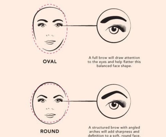 Find your ideal eyebrow shape