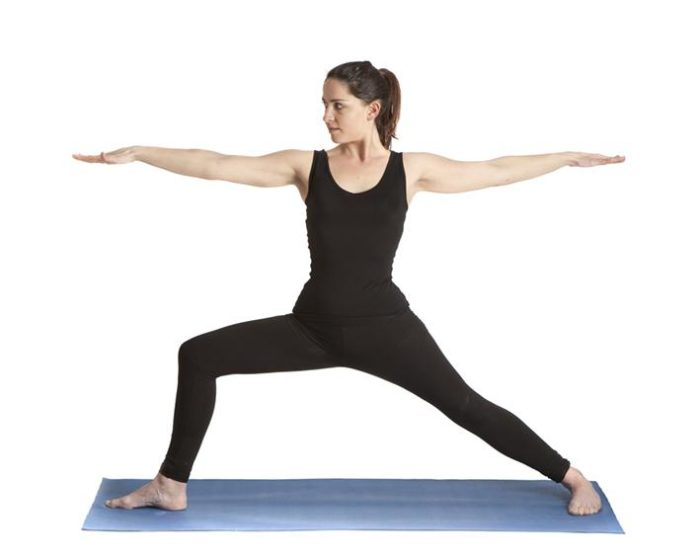 Virabhadrasana or Warrior Pose - How To Increase Breast Size Naturally