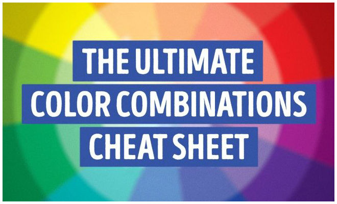 The Best Color Combination Cheat Sheet for You - ZestVine