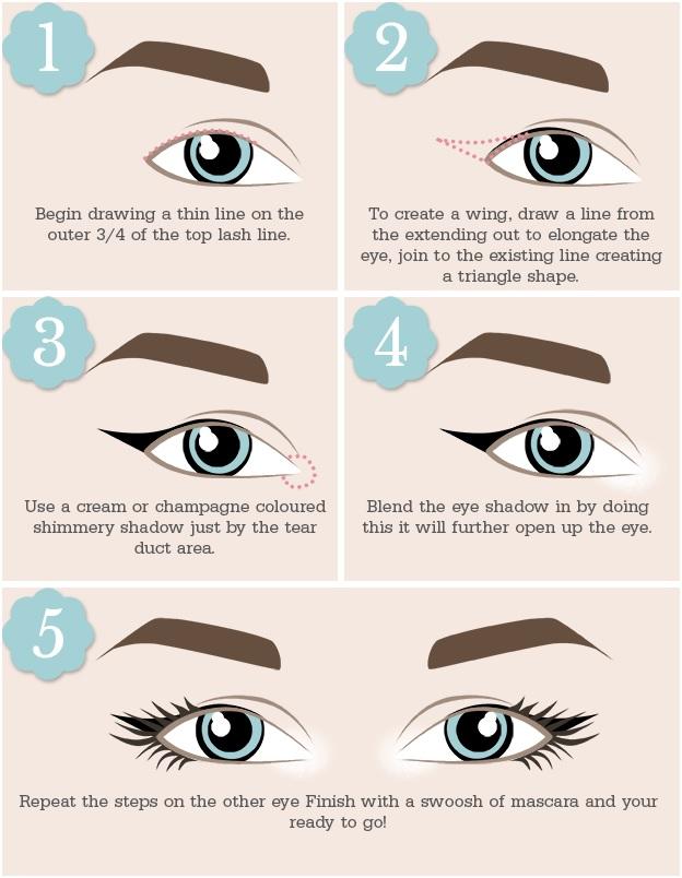 Close set eyes