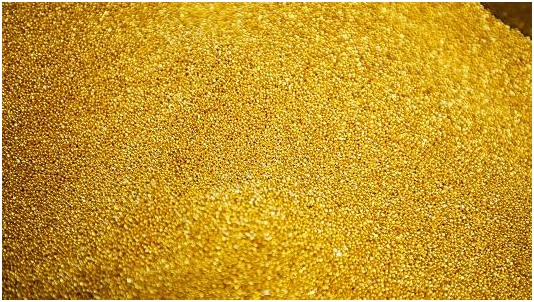 Gold - most expensive materials