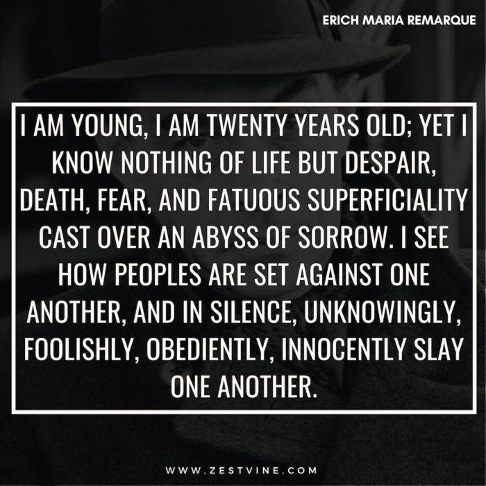 Erich Maria Remarque Quotes11
