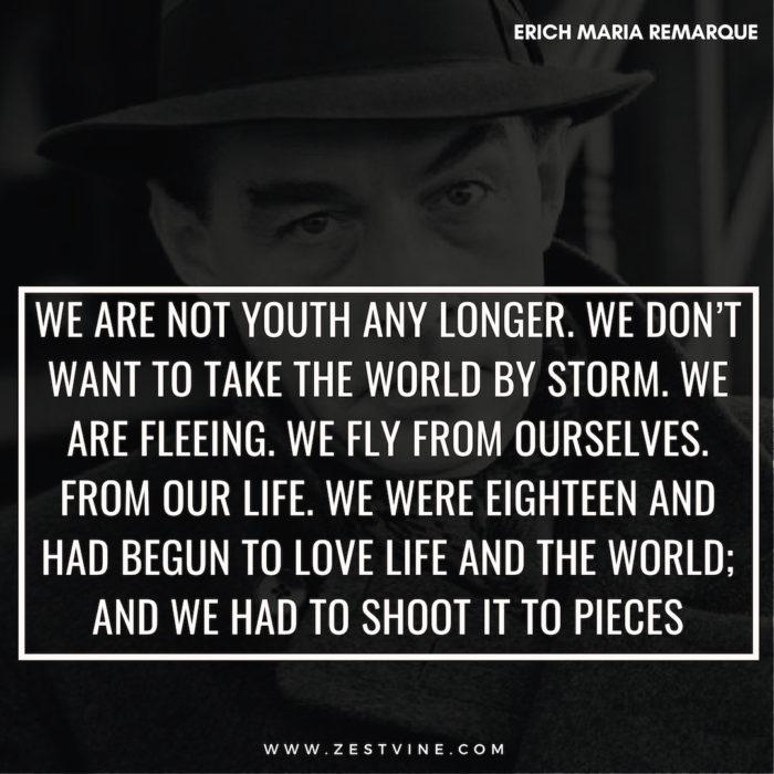 Erich Maria Remarque Quotes13