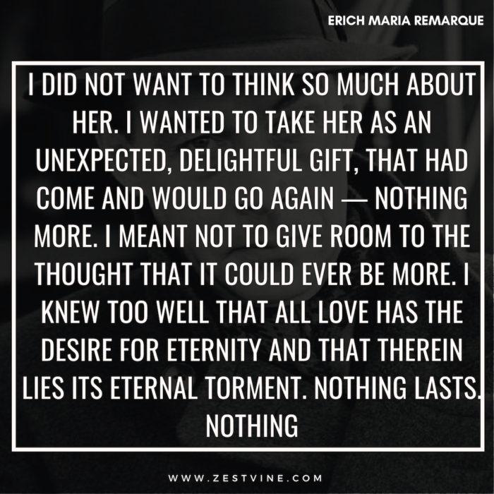 Erich Maria Remarque Quotes14