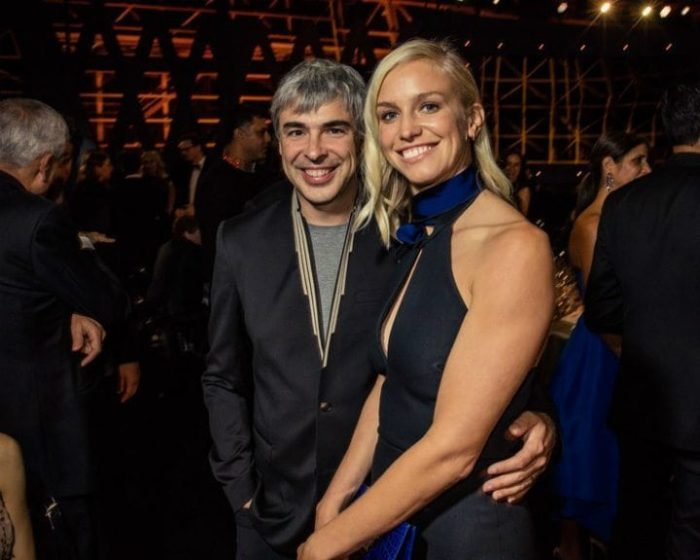 Larry Page and Lucinda Southworth