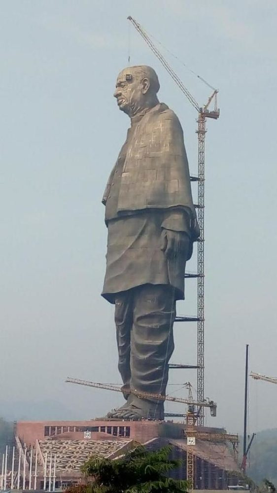 world tallest statue sardar patel