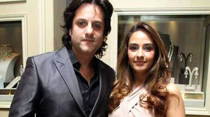 Fardeen Khan and wife Natasha Madha