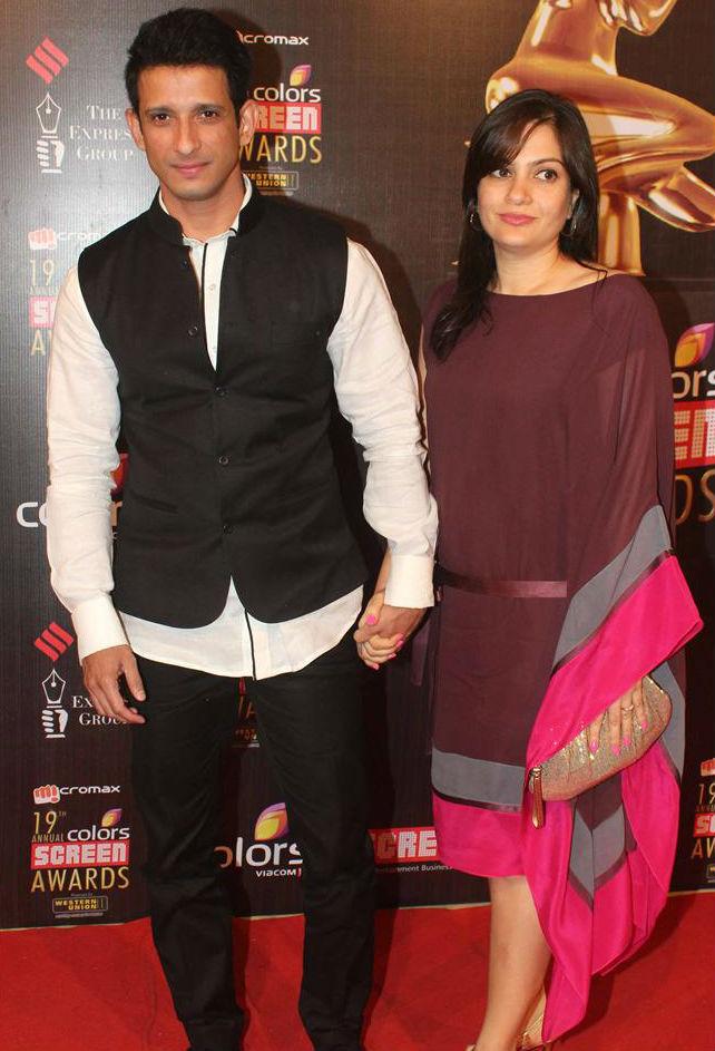 sharman joshi with wife prerna chopra