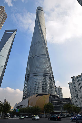 shanghai tower - tallest buildings in the world