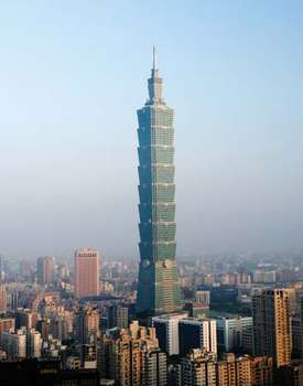 taipei- tallest building in the world