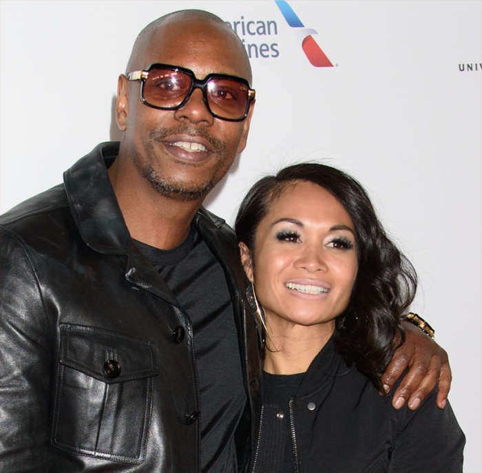 Dave Chappelle with Wife Elaine Chappelle