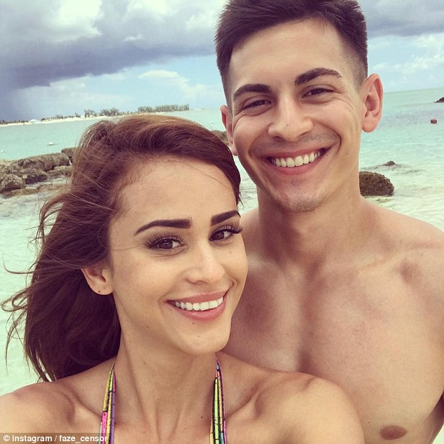 yanet garcia with her boyfriend