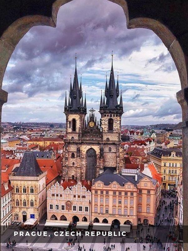 Worlds Best Places To Travel - PRAGUE, CZECH REPUBLIC