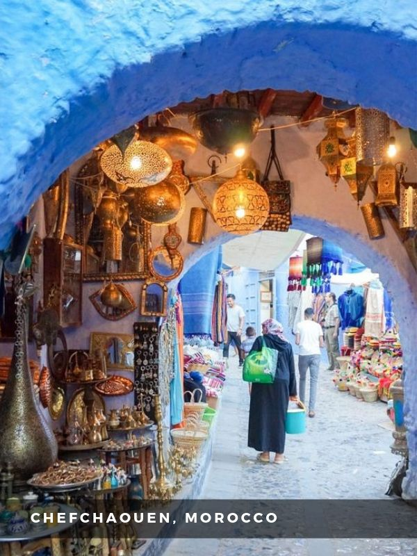 Worlds Best Places To Travel - CHEFCHAOUEN, MOROCCO