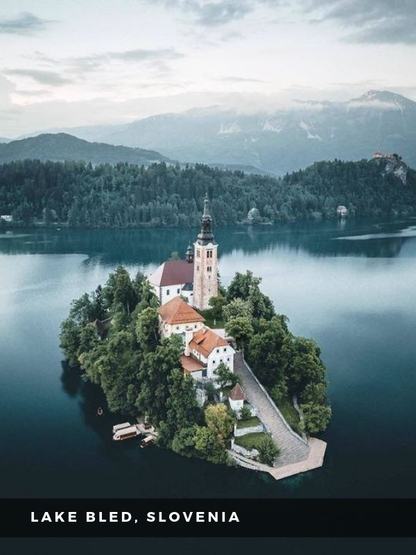Worlds Best Places To Travel - LAKE BLED, SLOVENIA