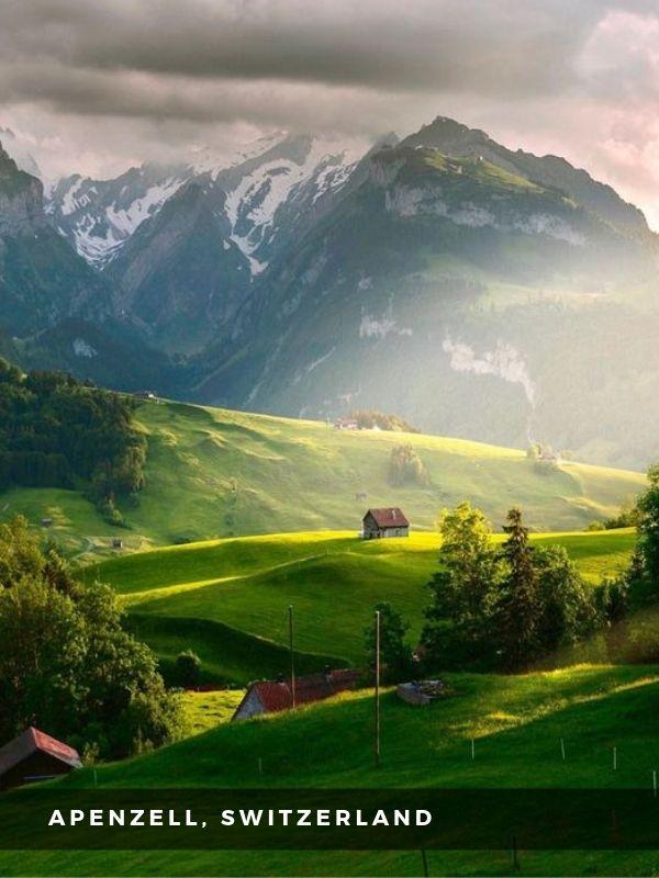 Worlds Best Places To Travel - APENZELL, SWITZERLAND
