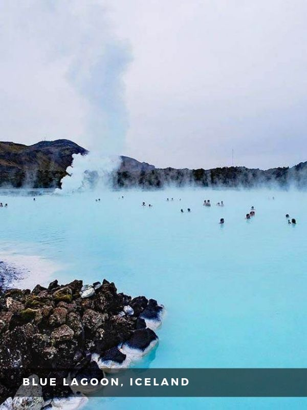 Worlds Best Places To Travel - BLUE LAGOON, ICELAND