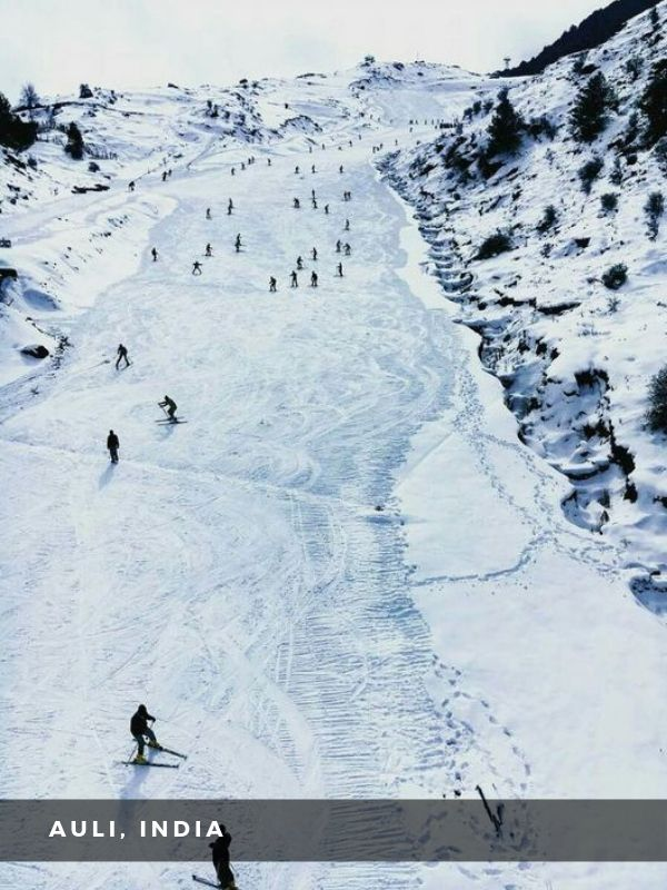 Worlds Best Places To Travel - AULI, INDIA