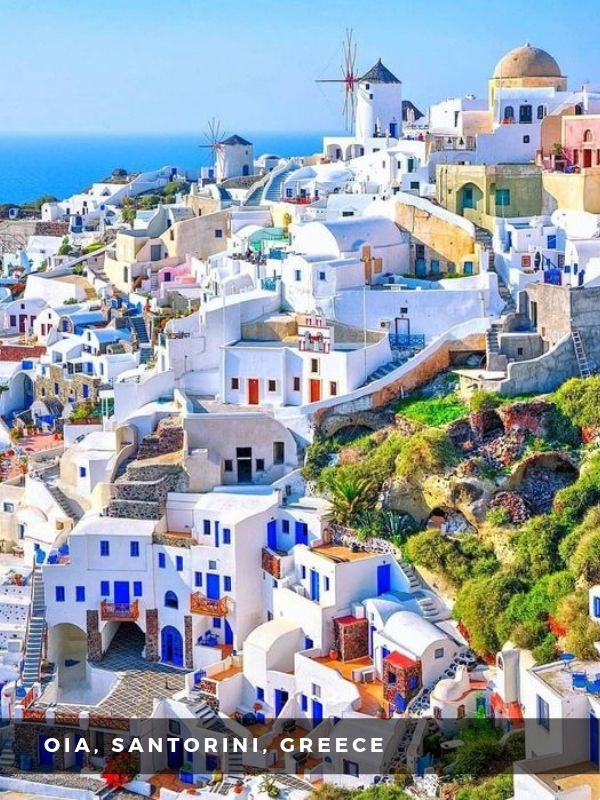 Worlds Best Places To Travel - OIA, SANTORINI, GREECE