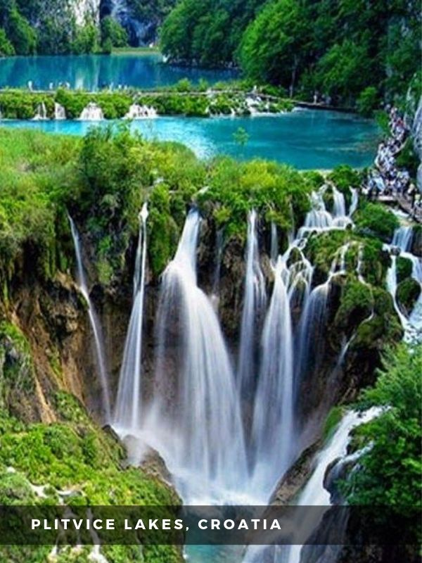 Worlds Best Places To Travel - PLITVICE LAKES, CROATIA