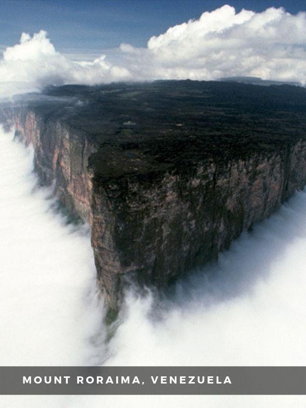 Worlds Best Places To Travel - MOUNT RORAIMA, VENEZUELA
