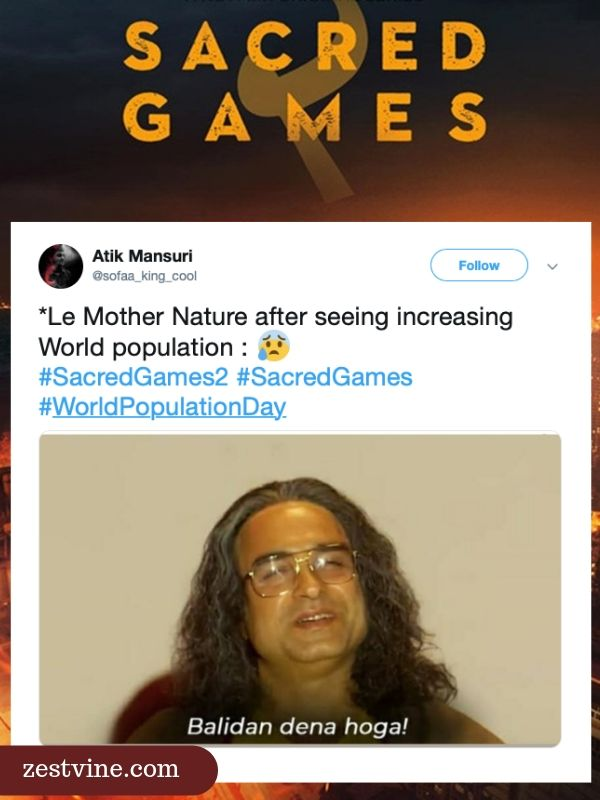 Bring A Trailer >> Trending Sacred Games 2 Memes You Don't Want To Miss ...