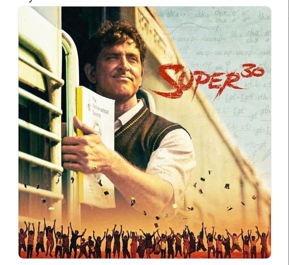 Hrithik Roshan's Starrer 'Super 30' Full Movie Leaked Online