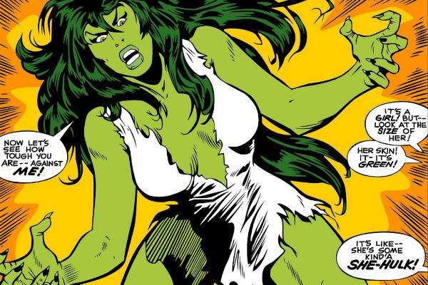 Female Superheroes - She-Hulk