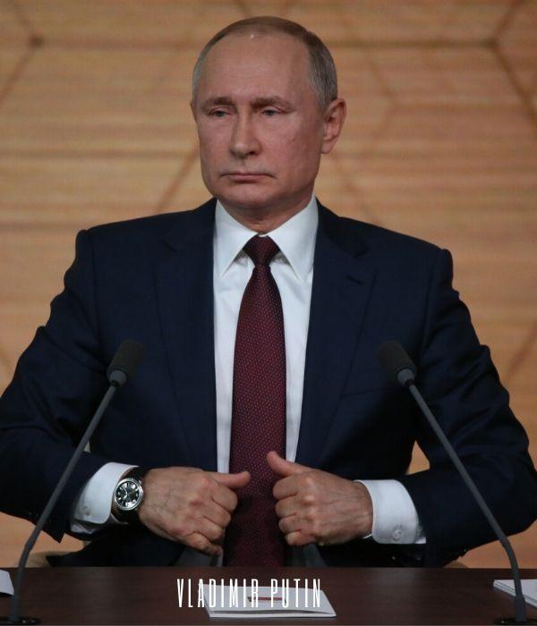 Billionaire Vladimir Putin