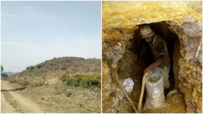 gold deposits in Sonbhadra