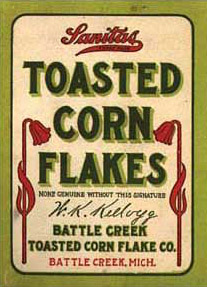 Why were cornflakes invented?