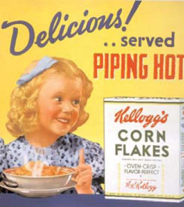 Cornflakes first Advertisement