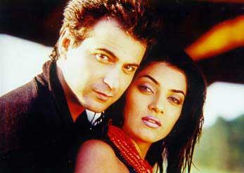 Sanjay Kapoor and Sushmita Sen