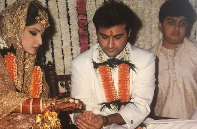 Sanjay Kapoor and Mahdeep Sandhu Wedding