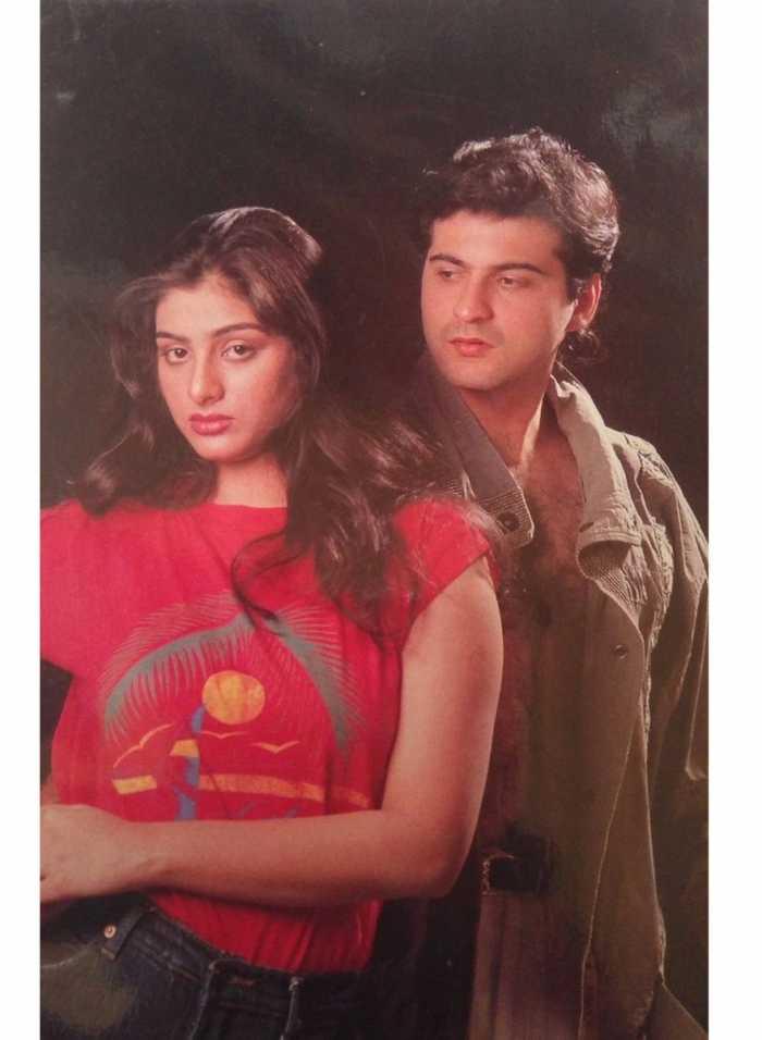 Sanjay Kapoor and Tabu