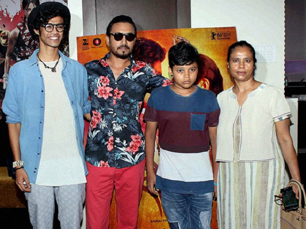 irrfan khan family picture