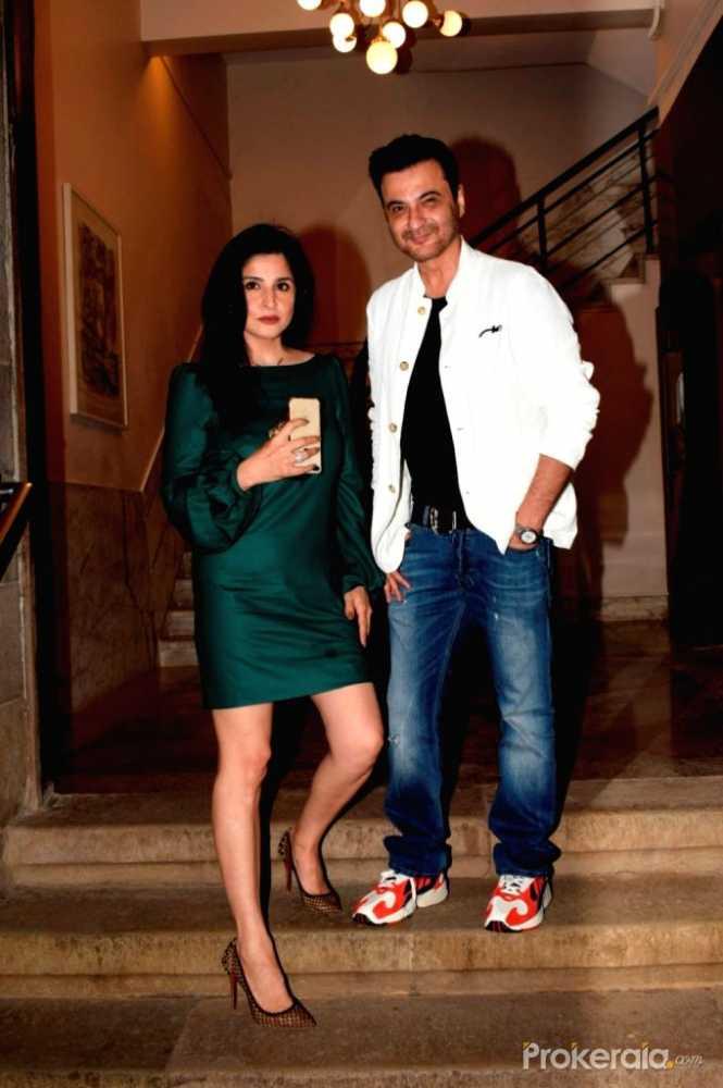Sanjay Kapoor and Mahdeep Sandhu