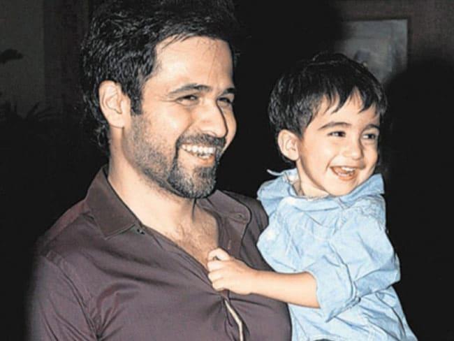 Emraan Hashmi with Son Ayaan