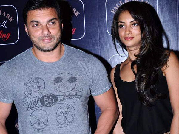 Seema Sachdev Khan and Sohail Khan
