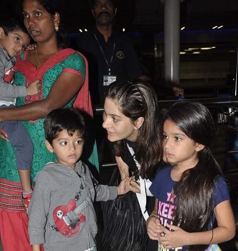 Prerana Chopra with Kids