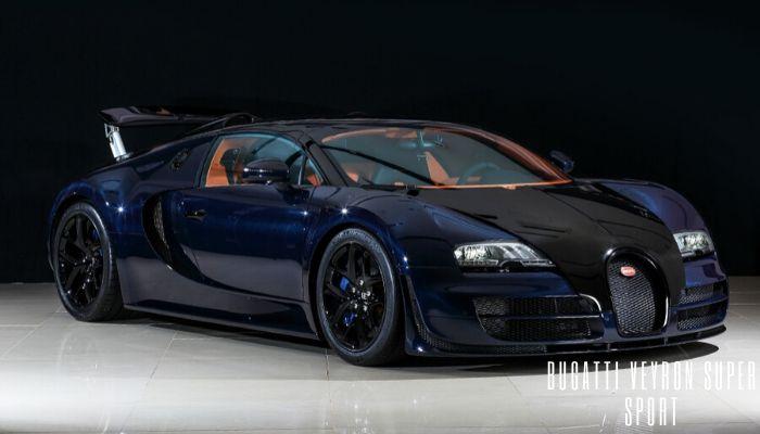 Bugatti Veyron Super Sport fastest car