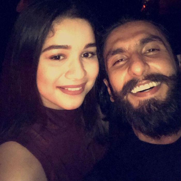 Sara Tendulkar and ranveer singh